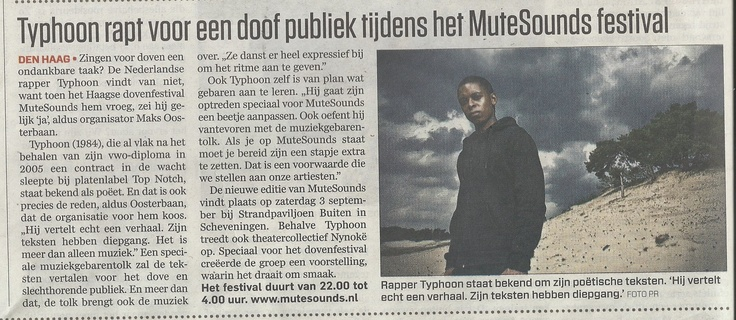 Telegraaf - augustus 2011