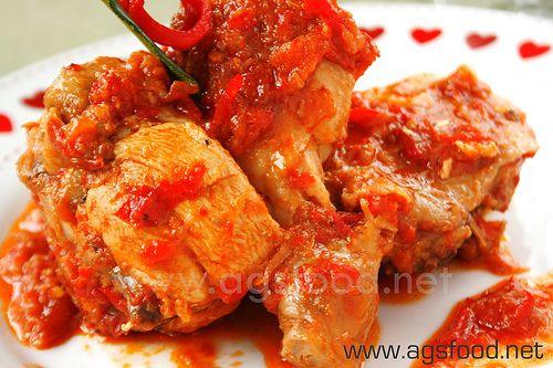 Resep Ayam Rica Rica Enak