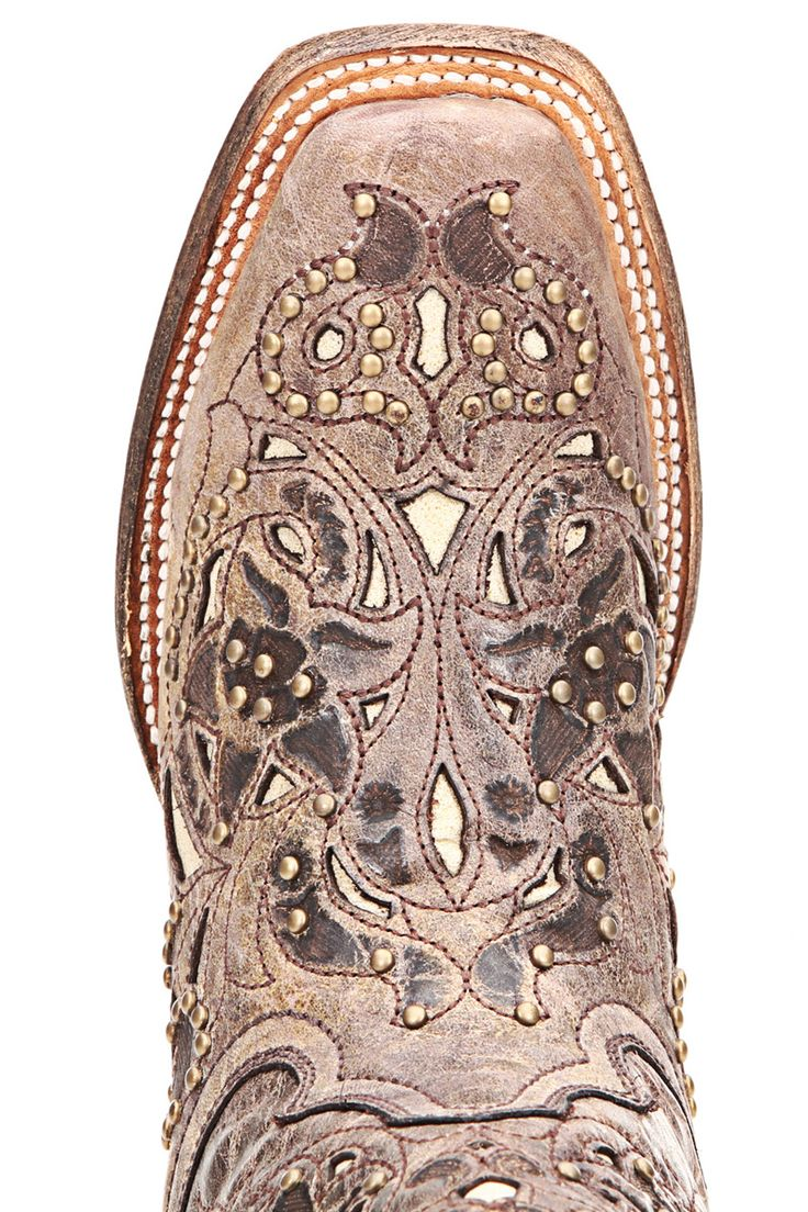 Corral Vintage Boots | Corral Vintage Bone Inlay Cowgirl Boots