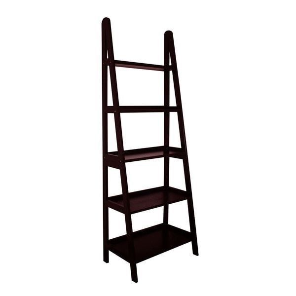 Mintra 5 Tier A Frame Ladder Shelf Open Back Design Storage U0026 Display  Sturdy New