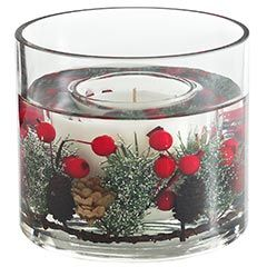 Holiday Forest Gel Candle. Gel candles are the best! :)