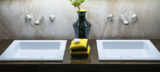 How To Convert A Single Sink To A Double Bathroom Sink Bathroom Sink Design Bathroom Sink Decor Sink