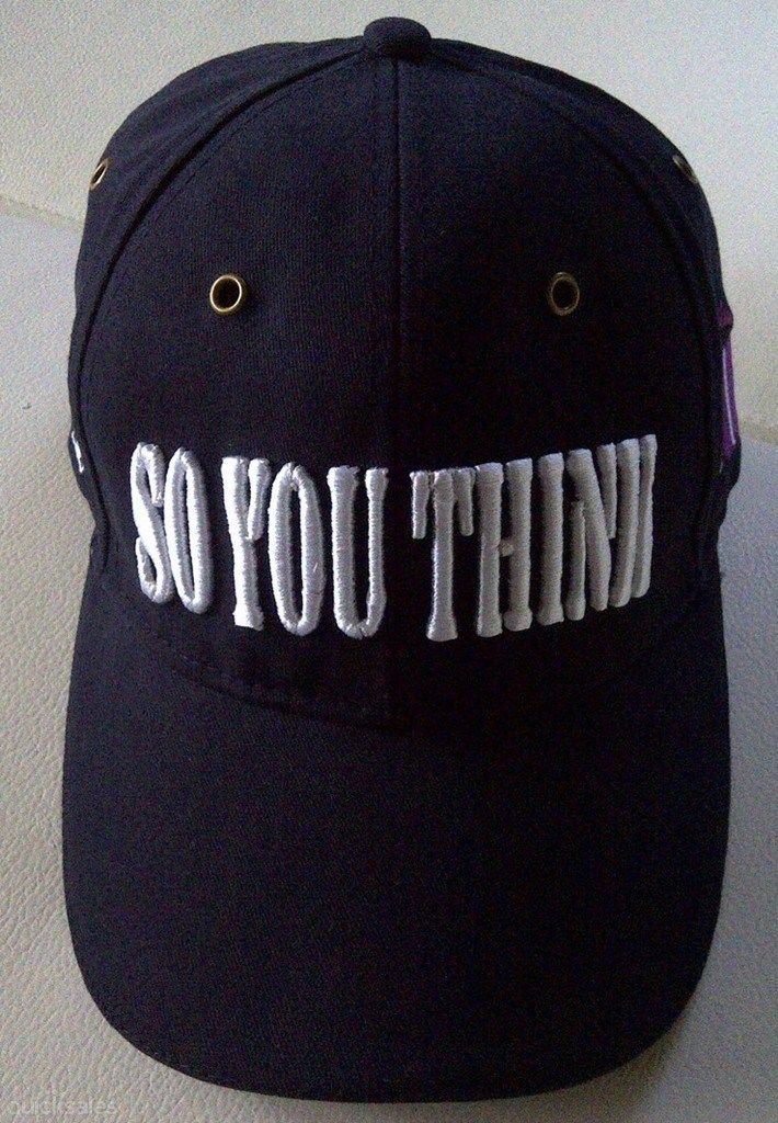 SO YOU THINK CAP - COOLMORE starting @ $11.00 #parismattRBWH #Charity