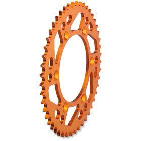 Image detail for -ktm-parts.com: Moose Aluminum Rear Sprocket KTM (Orange)