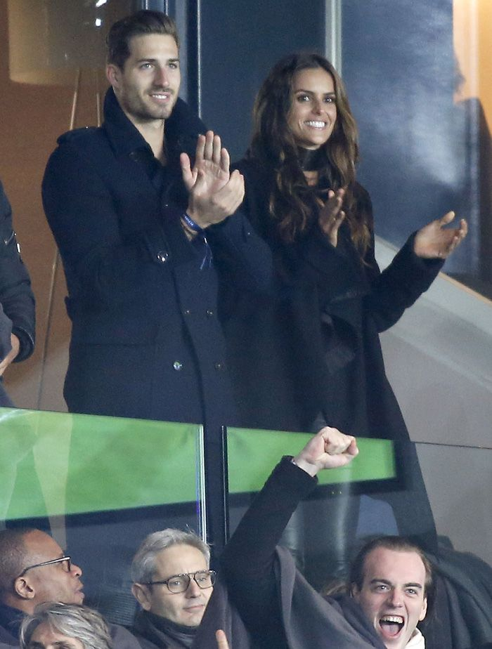 Izabel Goulart and Kevin Trapp
