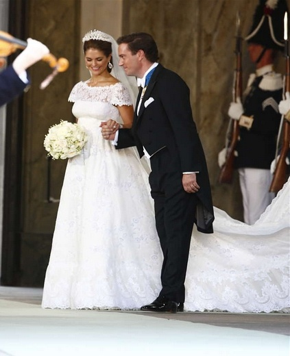 Princess Madeleine of Sweden royal wedding. Just now, June 8, 2013!