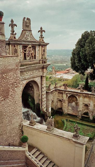 Villa d'Este Tivoli, Italy                                Love Italy can't wait to go back!  Whats not to love!