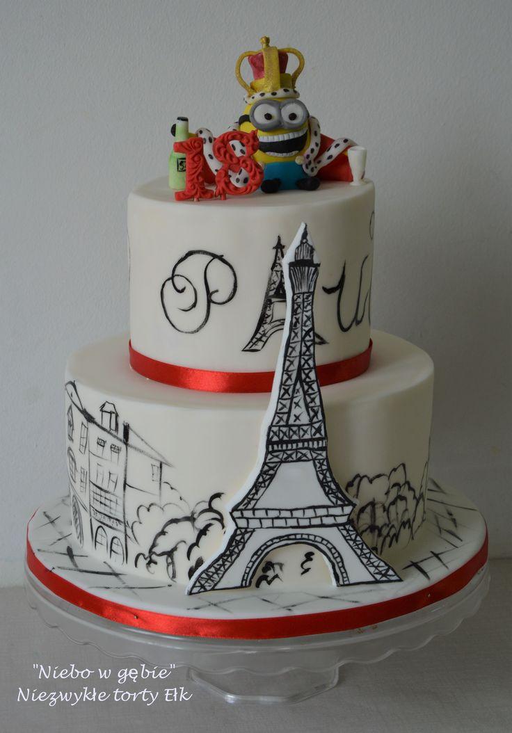 #tort #18urodziny #minionek #paryż