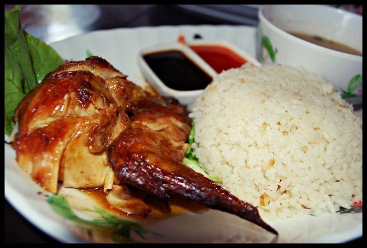 Nasi Ayam   Resepi Mudah dan Ringkas