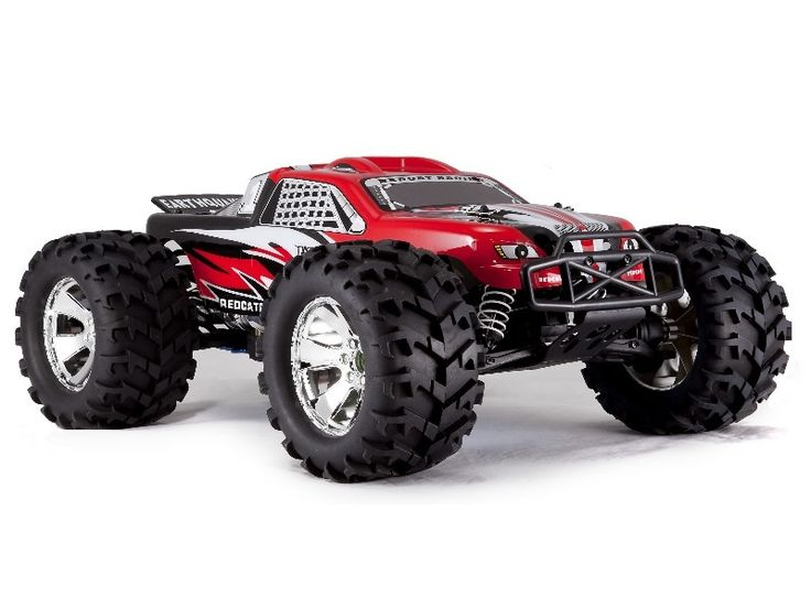 Goodszoo.com - RC Earthquake 3.5 1/8 Scale Nitro Monster Truck RED,