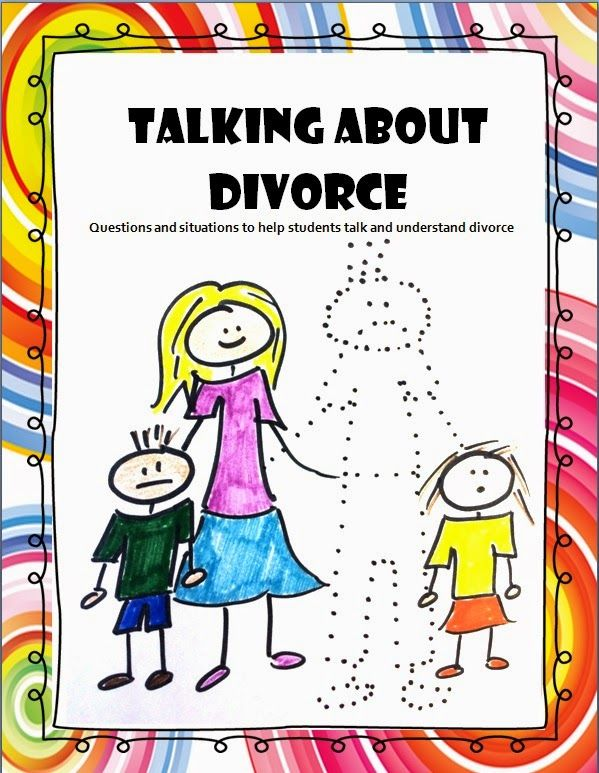 The Middle School Counselor: Talking About Divorce