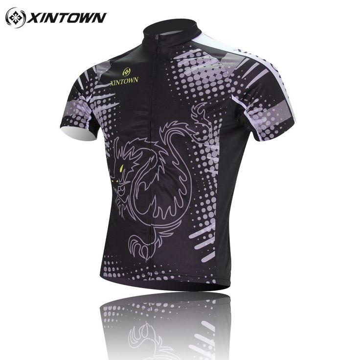 XINTOWN Men Cycling Jersey Sets Dragon Sports Bicycle Clothing Roupa Ciclismo Bicicleta Short Sleeve Bike Shirt Bicycle Clothes #Affiliate