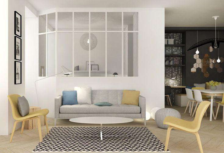 Po et nejlep ch obr zk na t ma small apartments na for Meuble pour studio petite surface