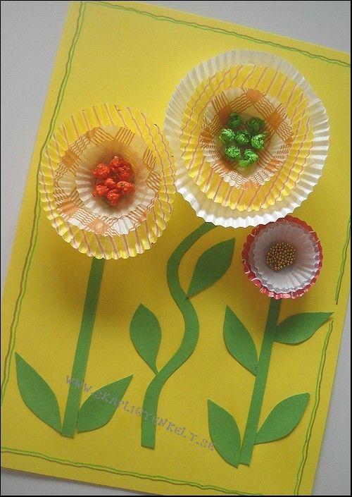 Skapligt Enkelt: Kakformsblommor  flors encantadores