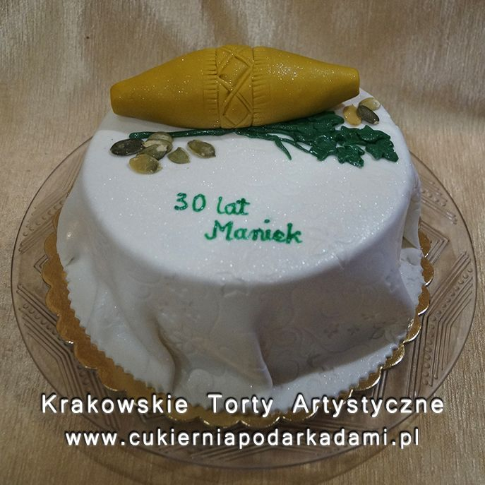 216. Cake for highlander with a sheep cheese.