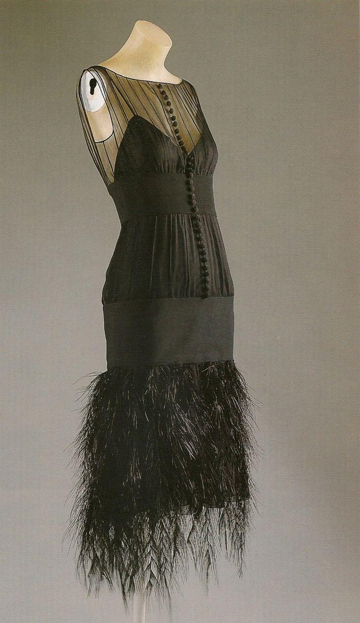 theyroaredvintage: Chanel evening dress.