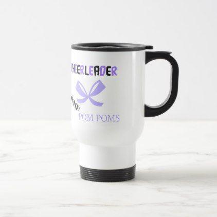 #Cheerleader Dance Travel Mug - #travel #accessories