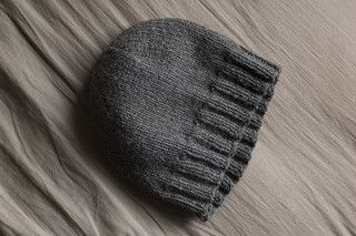 This is hands down the best men's hat pattern out there. It's easy, free, and uses a single skein of yarn. I