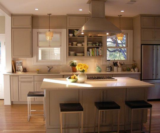 Before U0026 After: Kelly Moseleyu0027s Calming Austin Kitchen
