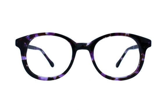 vintage style oval boston style eyeglass by