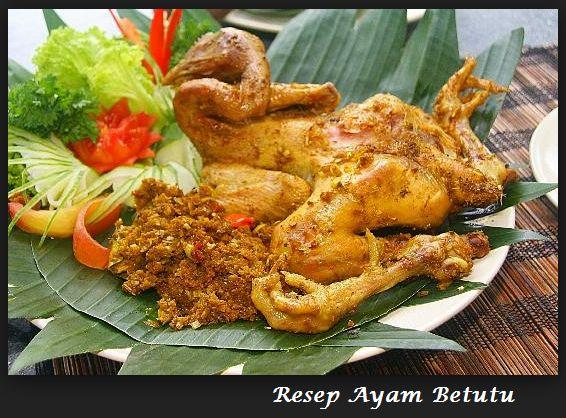 Resep Ayam Betutu Pedas Gurih http://resep-om.blogspot.com/2014/08/resep-ayam-betutu-pedas-gurih.html