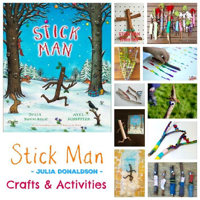 Stick Man – Julia Donaldson – Crafts and Activities