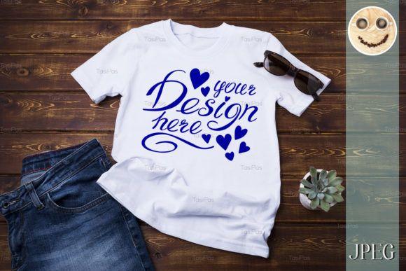 Download Unisex T Shirt Mockup With Jeans Graphic By Tasipas Creative Fabrica Shirt Mockup Tshirt Mockup Shirts