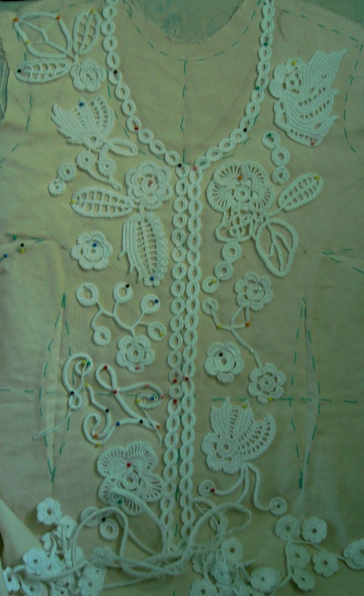 Irish crochet tutorial @Af's 18/3/13