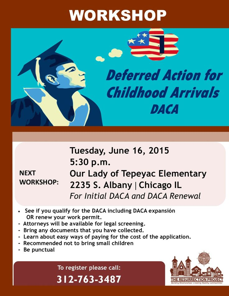 Come to our DACA This is