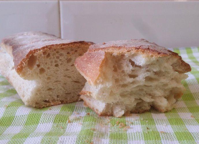 Pan estilo chapata para #Mycook http://www.mycook.es/cocina/receta/pan-estilo-chapata
