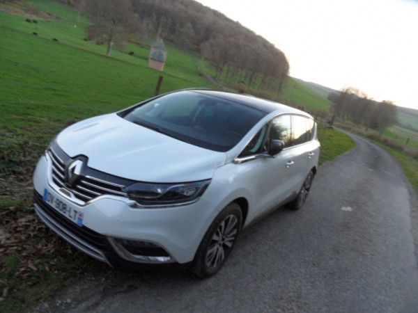 Essay Renault Espace Tce 200 Initiale Paris It Has All A Small