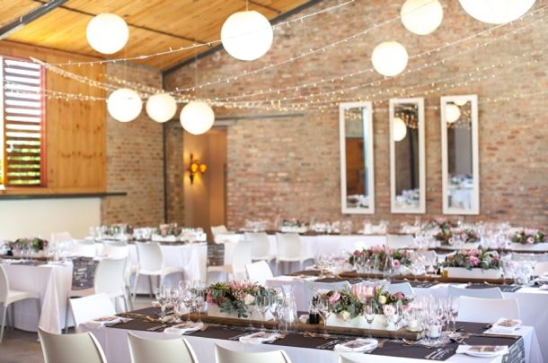 Those lanterns and fairy lights were the perfect choice of lighting and complimented the venue brilliantly!