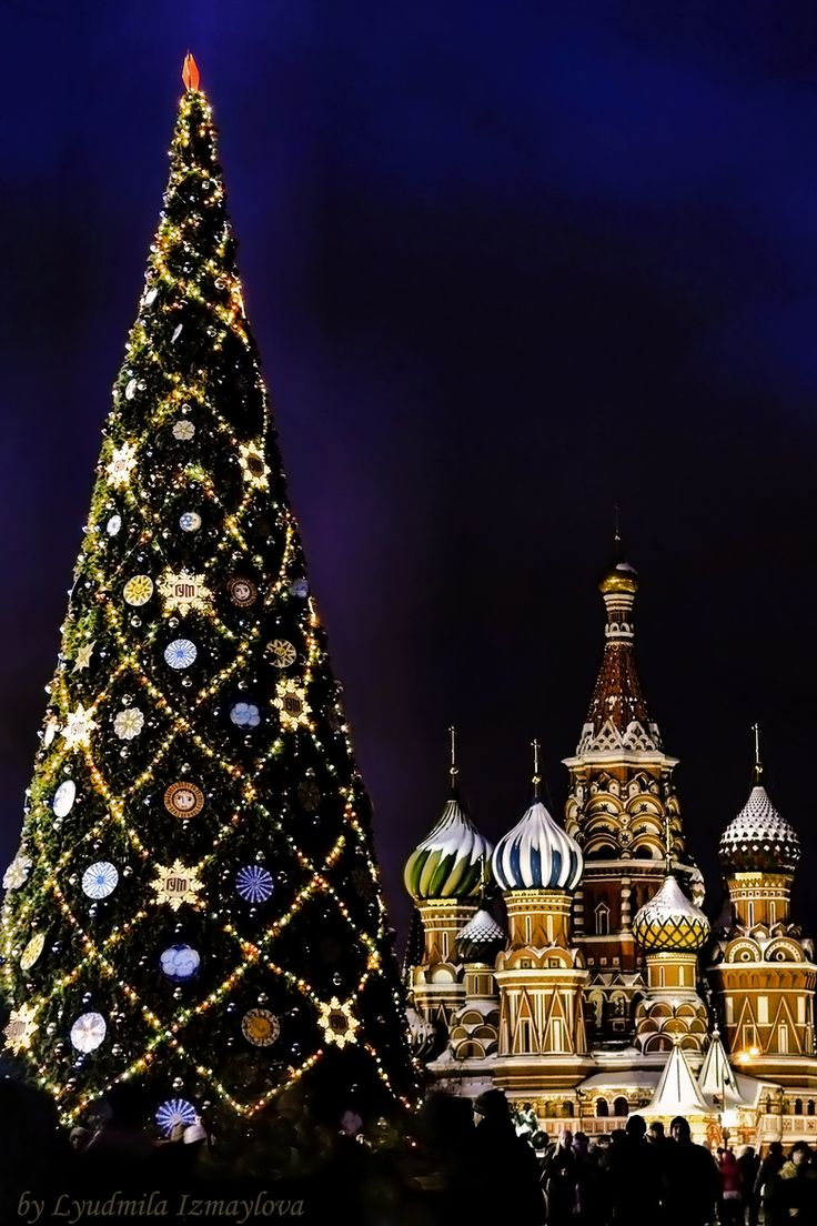 Christmas in Russia is celebrated on January 7, not December 25  because the Orthodox Church uses the Julian Calendar for religious celebration days. In traditional Russian Christmas, special prayers are said and people fast for up to 39 days up until January 6 when the first evening star appears in the sky then a 12 course meal is shared in honour of the 12 apostles.