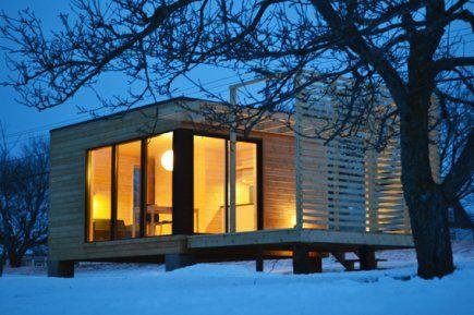 Miniloft em3 moderne modulaire et multipossibilit s Maison modulaire pas cher