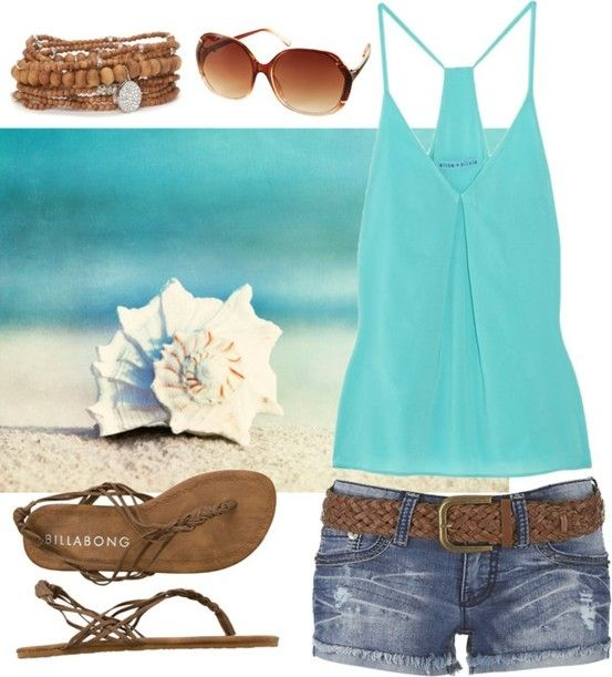 one of my favorite outfits! Beach Outfit