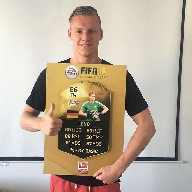 Pin for Later: Hier findet ihr die deutsche Fußballmannschaft auf Instagram Bernd Leno