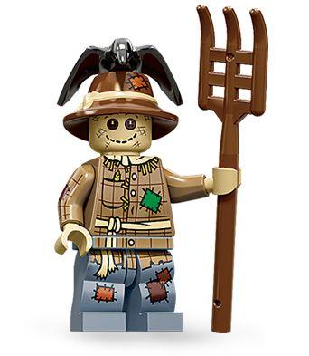 Scarecrow #lego #minifig #series11