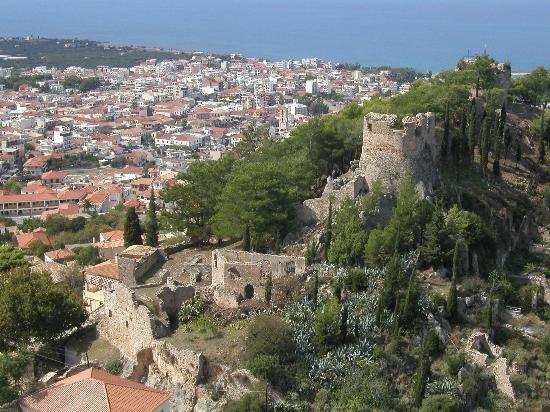 Κάστρο Κυπαρισσία-Kyparissias castle, Greece