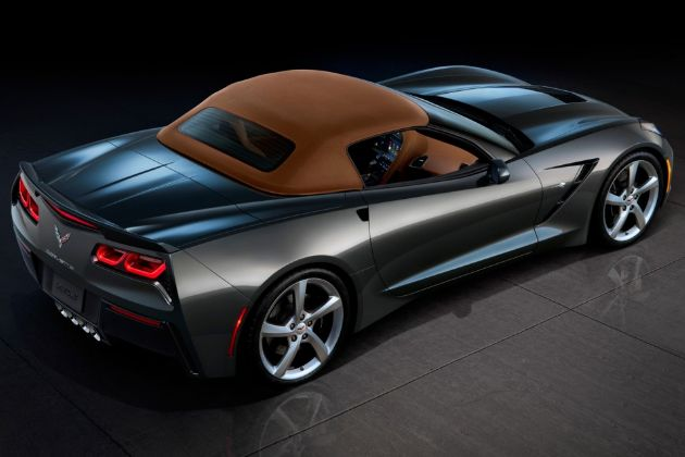 2014 Chevrolet Corvette Stingray Convertible. Bet she looks soooo sexy with the top down.