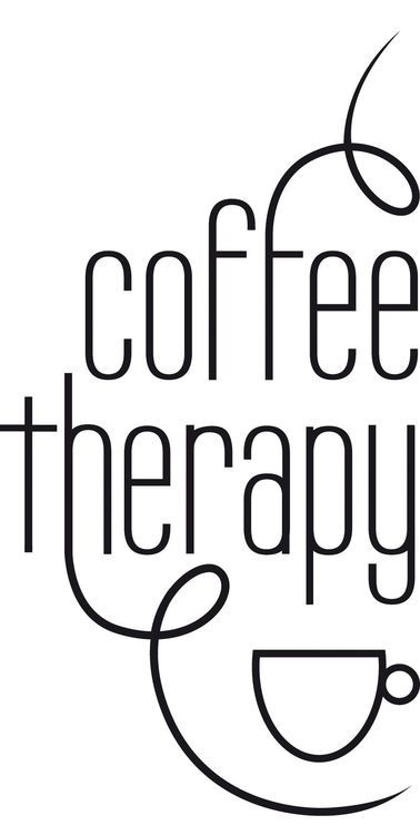 Coffee therapy.  [via Brandon Babcock on Pinterest]