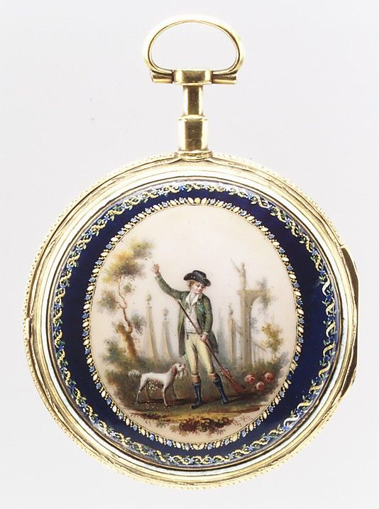 Late 18th century French/Swiss Watch at the Metropolitan Museum of Art, New York