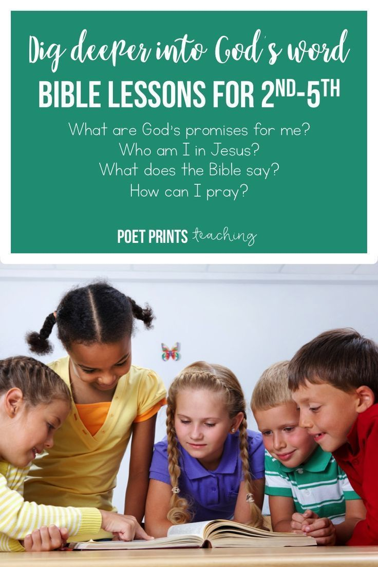 Help your kids dive deeper into God's word and learn their identity in Jesus.  I use these in Christian school, Children's church, and Sunday school to plan lessons that students will remember!