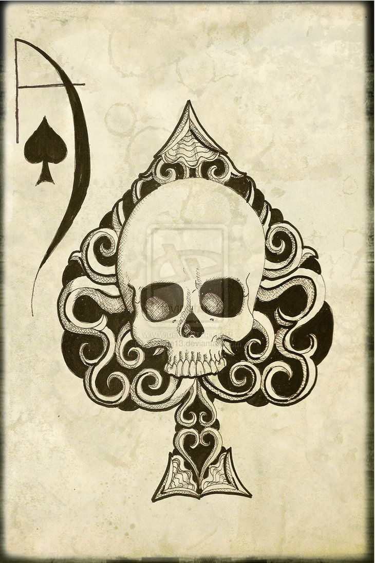 66 best ace images on pinterest ace of spades decks and for Tattoo art club