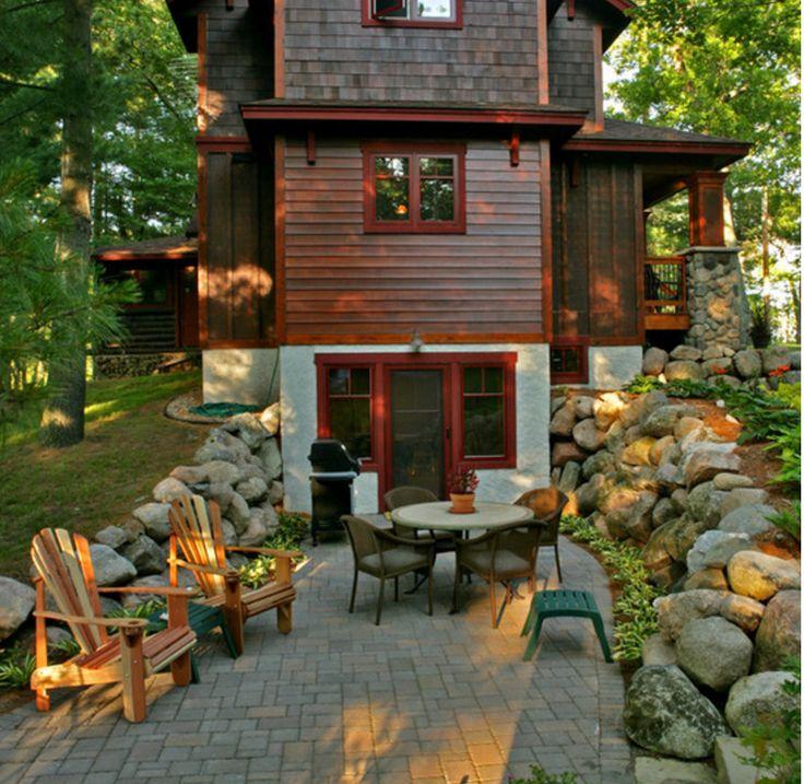 House ideas for Walkout basement door options