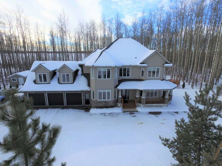 COUNTRY LIVING AT ITS BEST Located in the prestigious community of Century Estates in Parkland County. For More Info go to www.23CenturyEstates.info