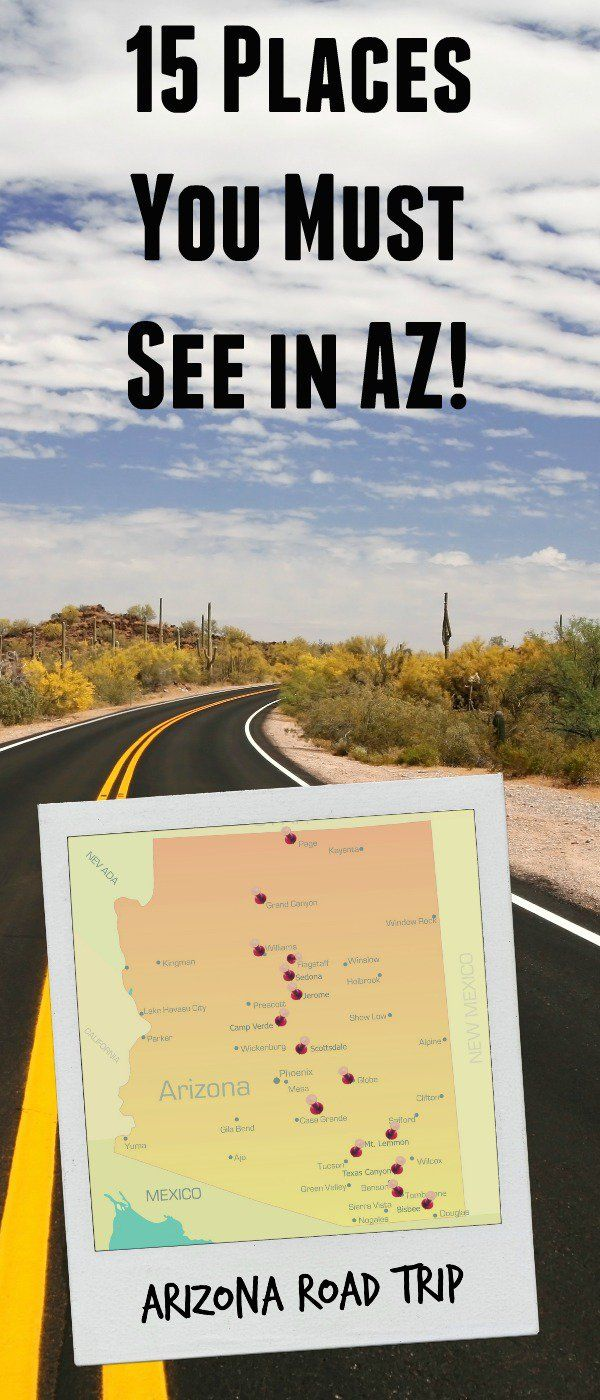Arizona Road Trip: The Places You Must See in AZ! via @bludlum