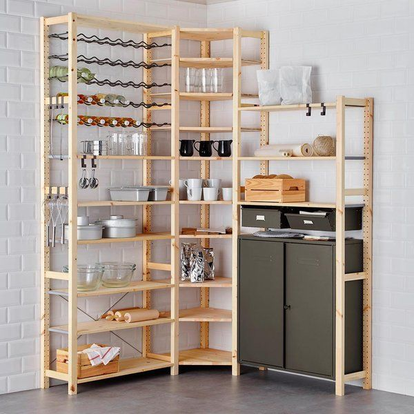 Despensas ordenadas con mucho estilo cuisines for Rayonnage modulaire ikea