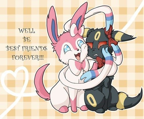 Poor Umbreon.. I ship Sylbreon but also ship it as a slightly one-sided friendship... Umbreon is so shipable ok!!!