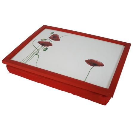 Poppy Collection Lap Tray | Dunelm