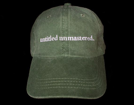 Kendrick Lamar untitled unmastered hats Top dawg by Rawsells